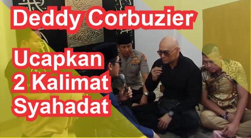 Deddy Corbuzier Mualaf. Foto/M. Syaifullah/Tempo