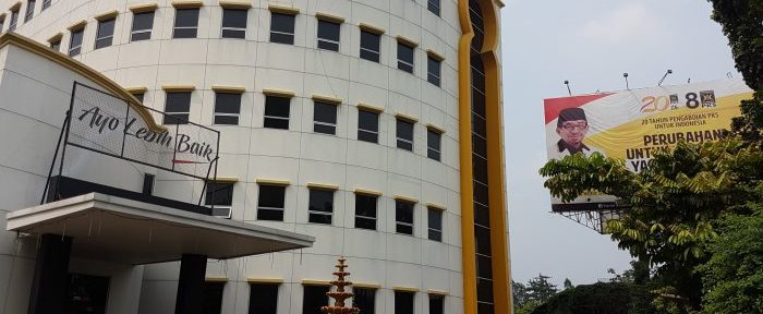Gedung DPP PKS Terancam Disita Pengadilan/Foto:riaumandiri.co
