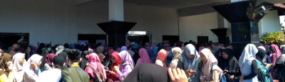 GP Ansor Tolak Ustadz Hanan Attaki Isi Pengajian di Tegal/Foto:panturapost.com