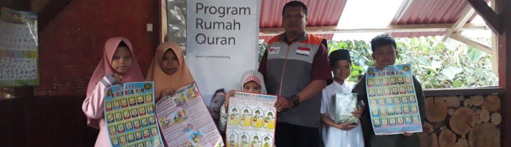 Rumah Zakat Bantu Salurkan Iqra Untuk Rumah Qur'an Insan Cendikia