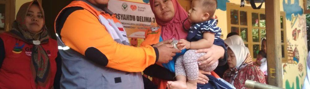 Rumah Zakat Support GHS Desa Kertamukti Dengan Memberikan Makanan Tambahan