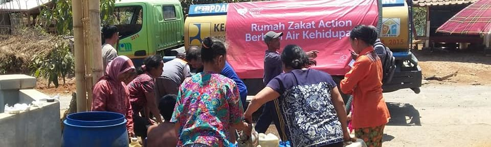 Rumah Zakat Bantu Atasi Kekeringan di Desa Jingkang