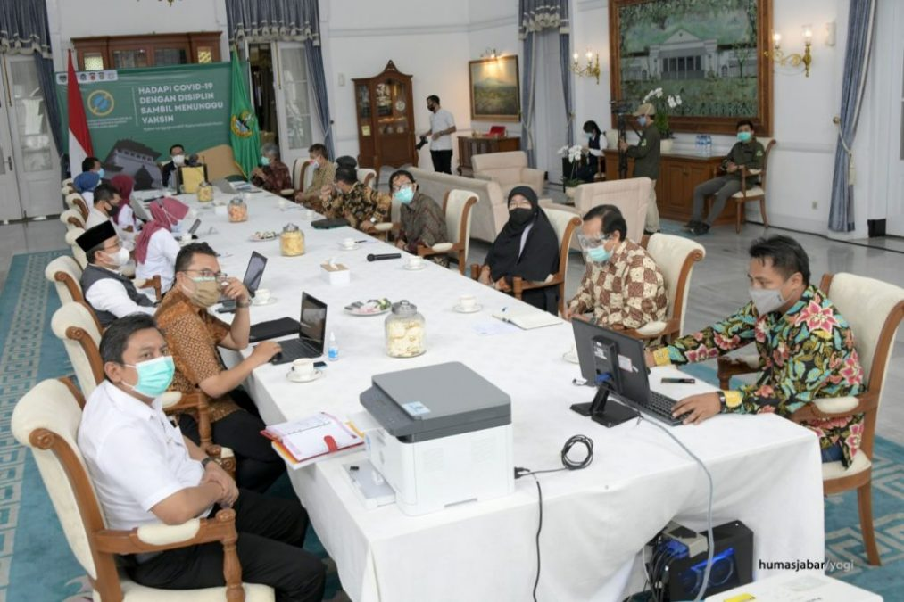 Tim Polman Bandung audiensi bersama Gubernur Jabar Ridwan Kamil, baru-baru ini. (IST)